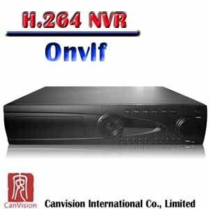 IPのカメラOnvif (CAD4224E1)のための新しい24CH保証NVRシステム