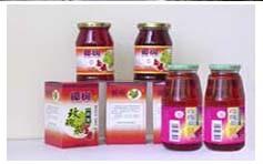 Roselle Sirup-Getränk