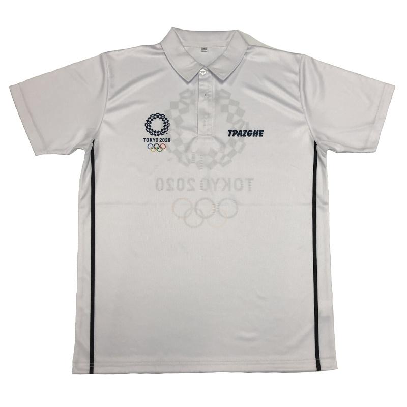 2020 Juegos Olímpicos de Tokio Polo Shirt 160g de alta calidad