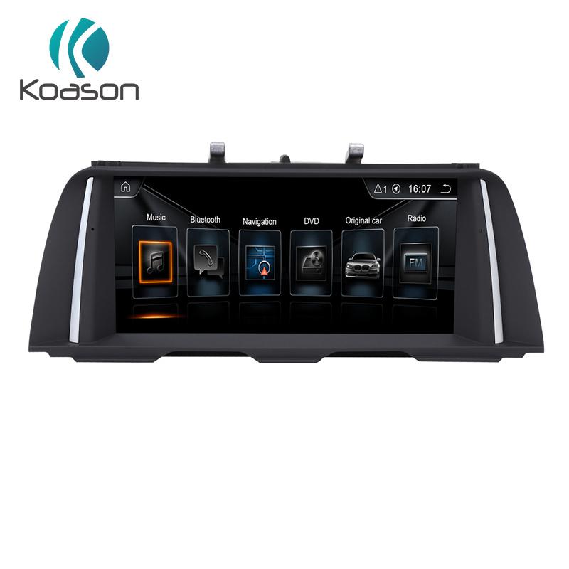 Percorso di GPS del giocatore di multimedia dell'automobile del Android 8.1 per BMW F10 Nbt