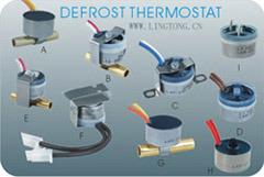 バイメタルはサーモスタットKSD10シリーズの霜を取り除く