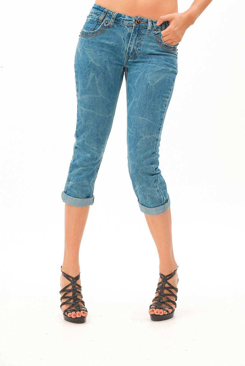 Mulheres Jeans curto (JJ-WS008)