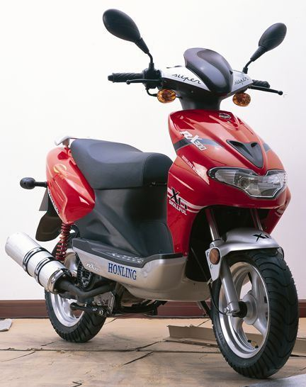 Scooter del gas (HL125T-12)