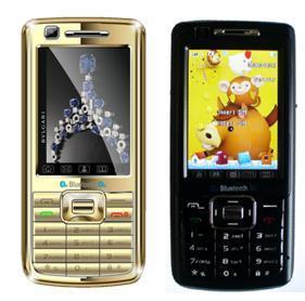 quadribande Double Carte SIM double veille téléphone mobile (V90+)
