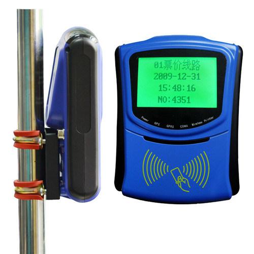 Autobús validador de RFID con tarjetas IC para el transporte público de recogida de tarifa automática apoyar el desarrollo secundario
