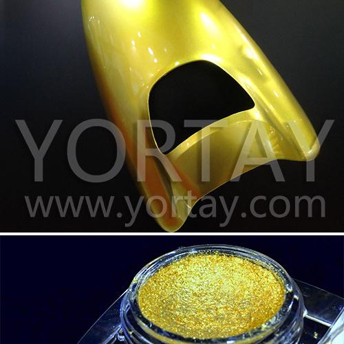 Pearl пигмента 10-60um, золотой серии слюда перламутровым эффектом порошок