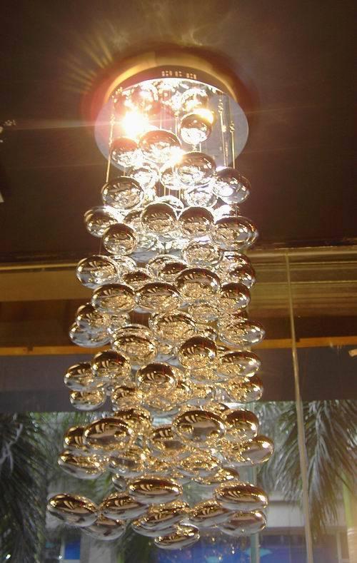 90 bolas de vidrio decoración iluminación colgante (MD8820-3)