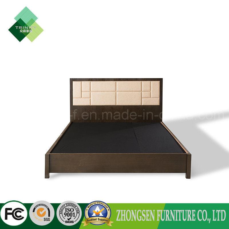 Foto de Muebles modernos de diseño de cama de madera marco de la ...