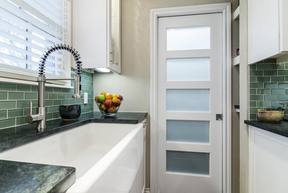 Foto de 5 Panel de Vidrio despensa puerta blanca cocina en es.Made ...