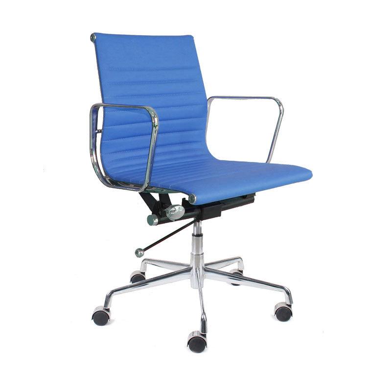 Moderne ergonomische lederen Eames Office Chair Hotel Chinese stoelen