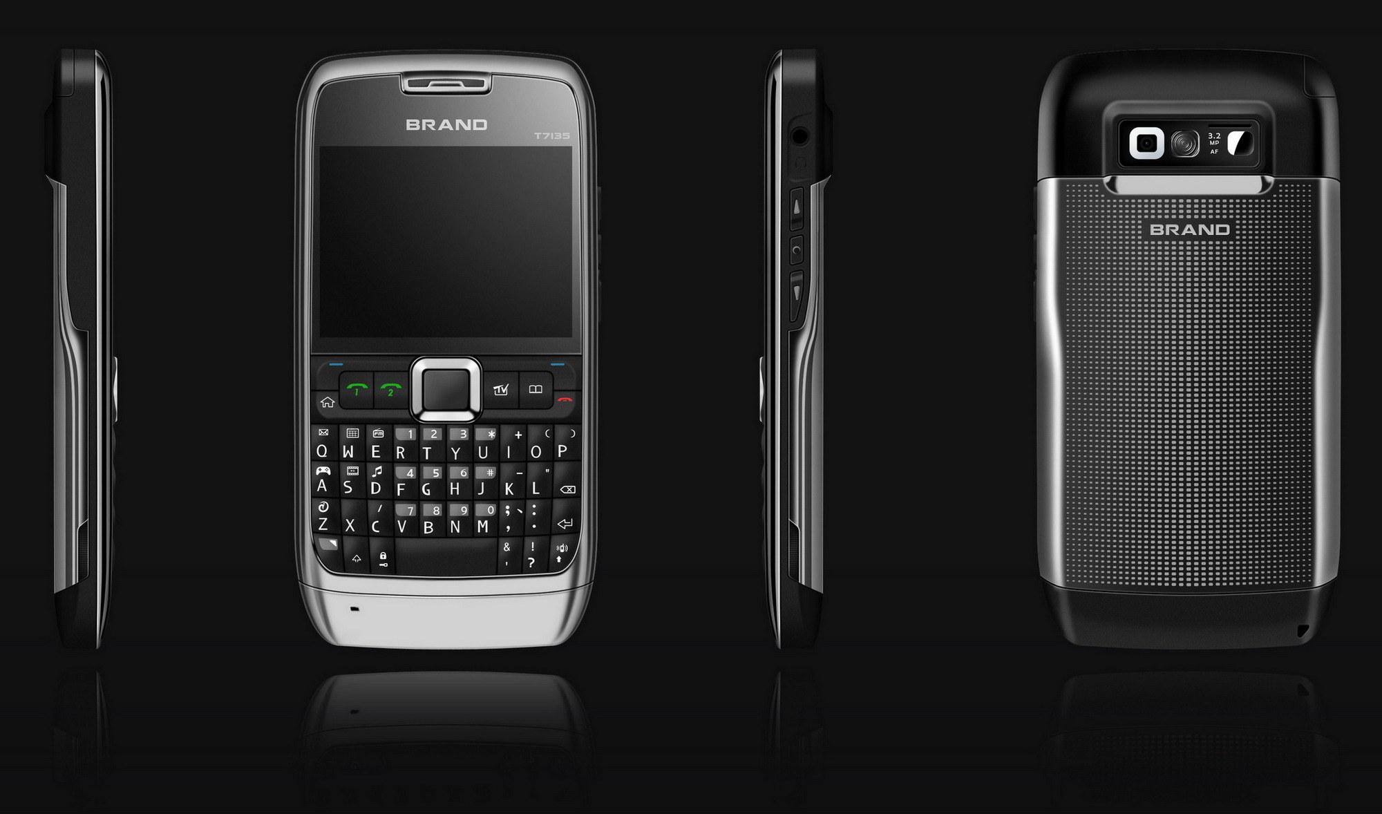 WiFi Java TV Quad Band mobiele telefoon (E71 mobiele telefoon)