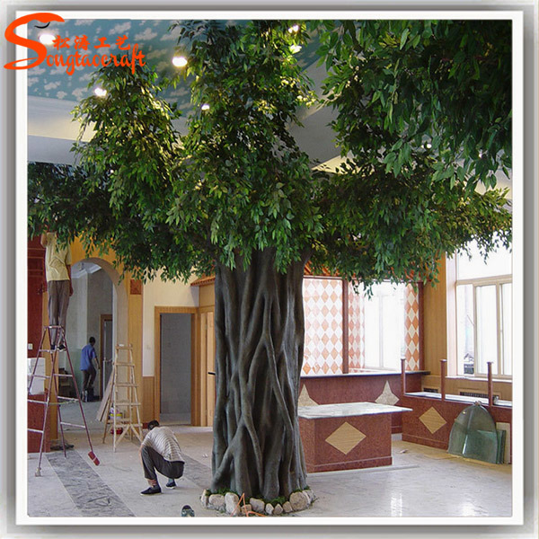 Grand arbre artificiel d 39 usine de ficus de la meilleure for La decoration d interieur