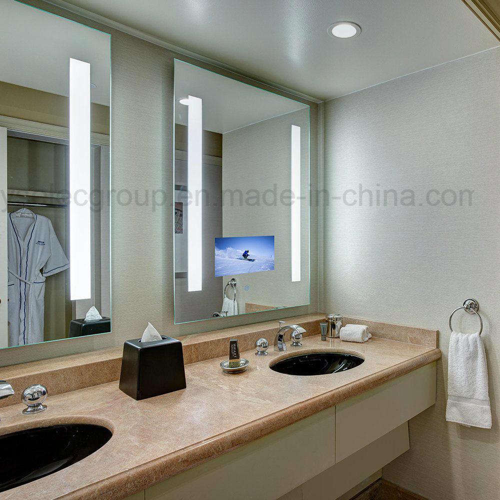 Tele Salle De Bain taille personnalisée yashi miroir magique tv dans la salle