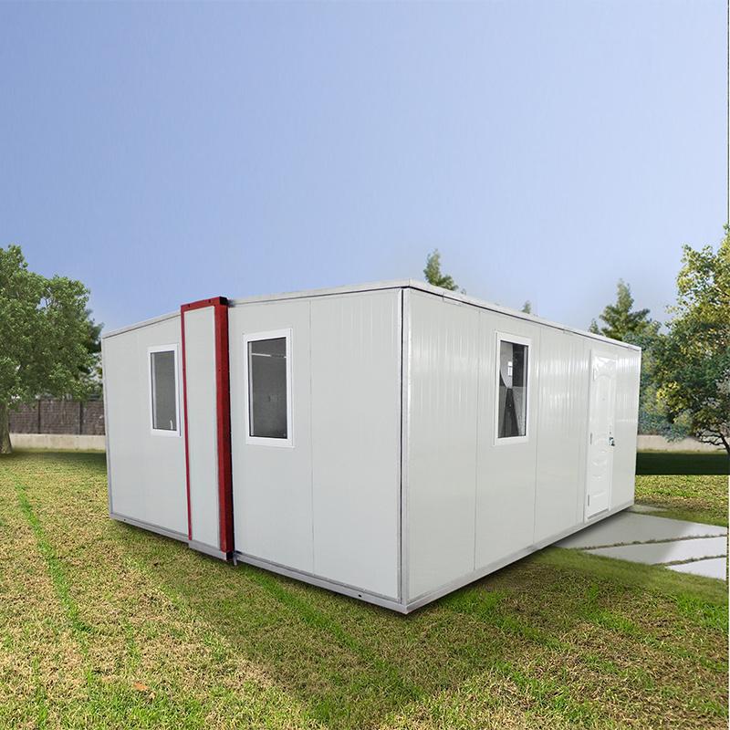 De geprefabriceerde Modulaire Mobiele Pre Houten het Leven Fab Draagbare Huizen Fab van het Huis van de Verschepende Container van de Luxe van het Bureau van het Staal Uiterst kleine Beweegbare Pre