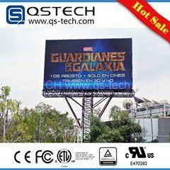 Pantalla LED para instalación fija al aire libre a todo color de pantalla LED Qstech Zeus P16 (P6.67 P6 P8 P10 P13.3 P20)