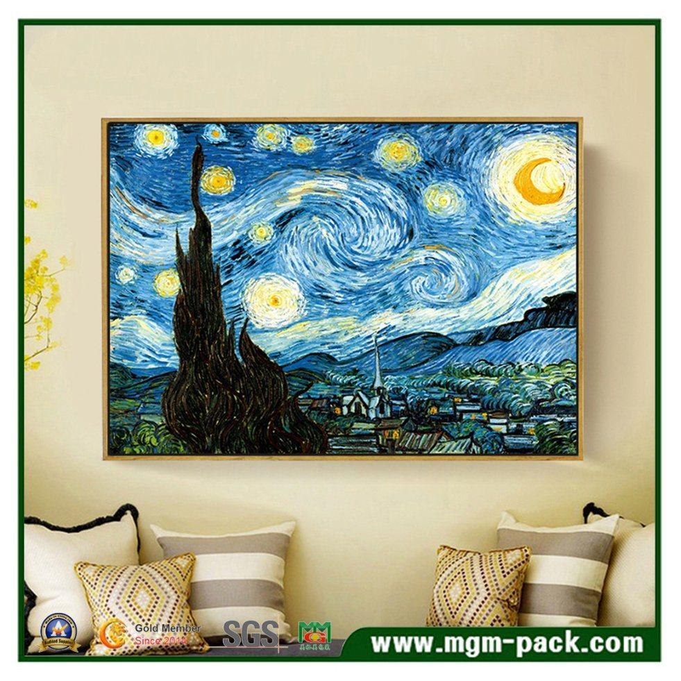 China Van Gogh Estrelada Pintura Sobre Tela Mate Compre Pintura