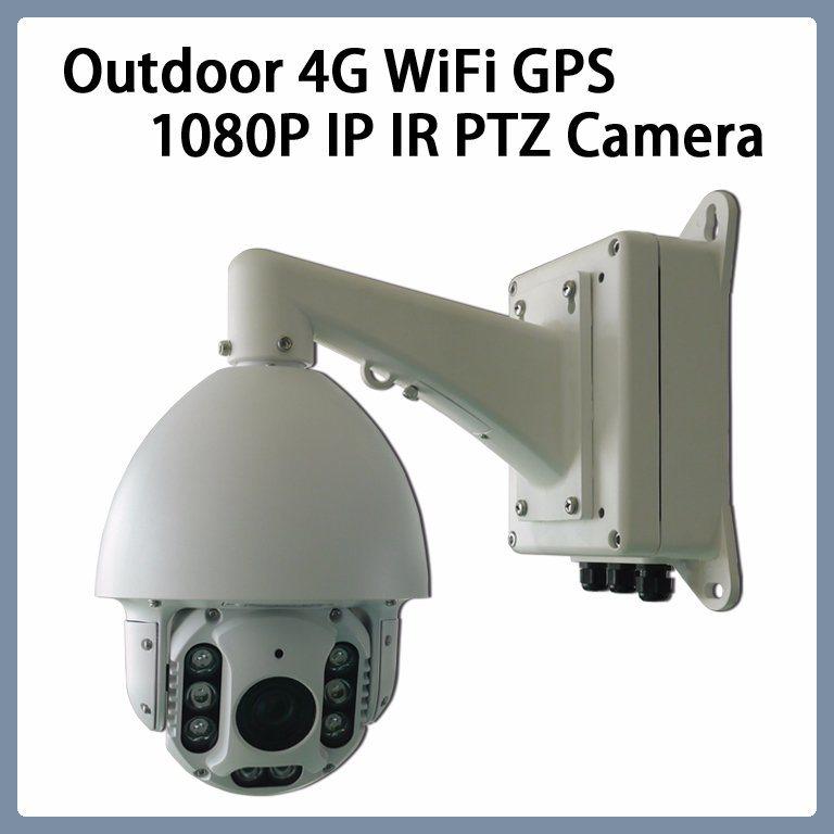 Macchina fotografica impermeabile del IP IR PTZ del CCTV di 4G WiFi 1080P 18X