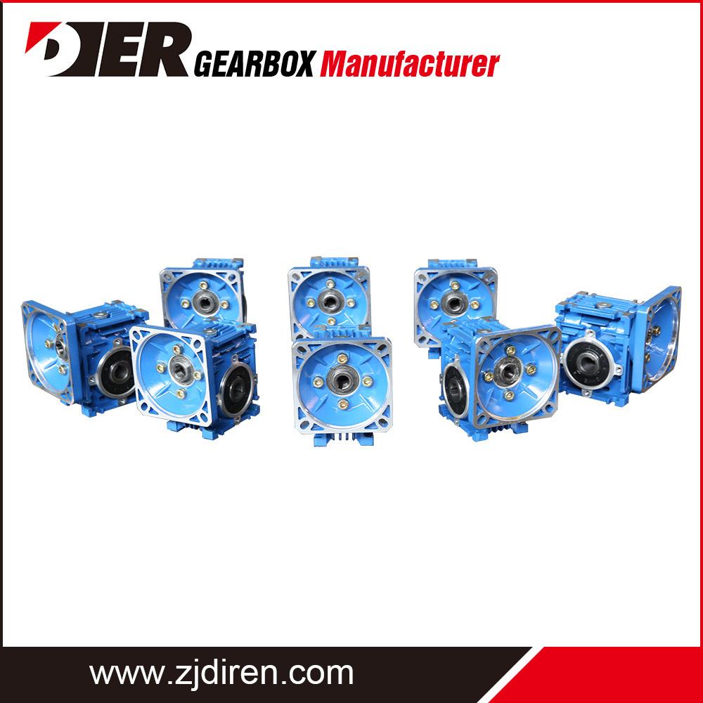 Riduttore di velocità per vite senza fine RV di buona qualità/scatola ingranaggi in alluminio di dimensioni standard