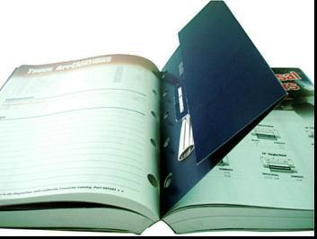 薄紙表紙の本の印刷(JHY100420007)