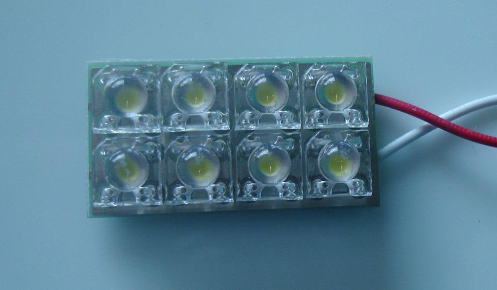 Luce a LED per interni con 8 LED Piranha