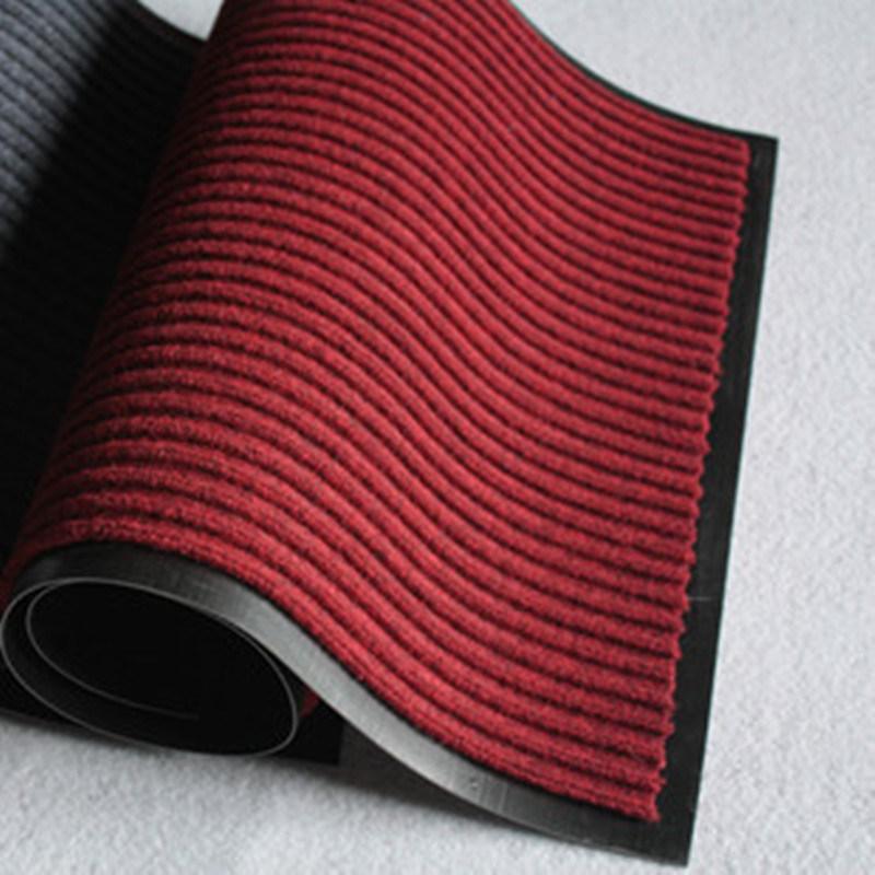 Doppia stuoia della moquette della banda con la protezione del PVC