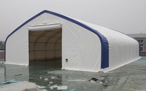 PVC/PE Tent van de Opslag van het Pakhuis van de stof de Vuurvaste (7010028P)