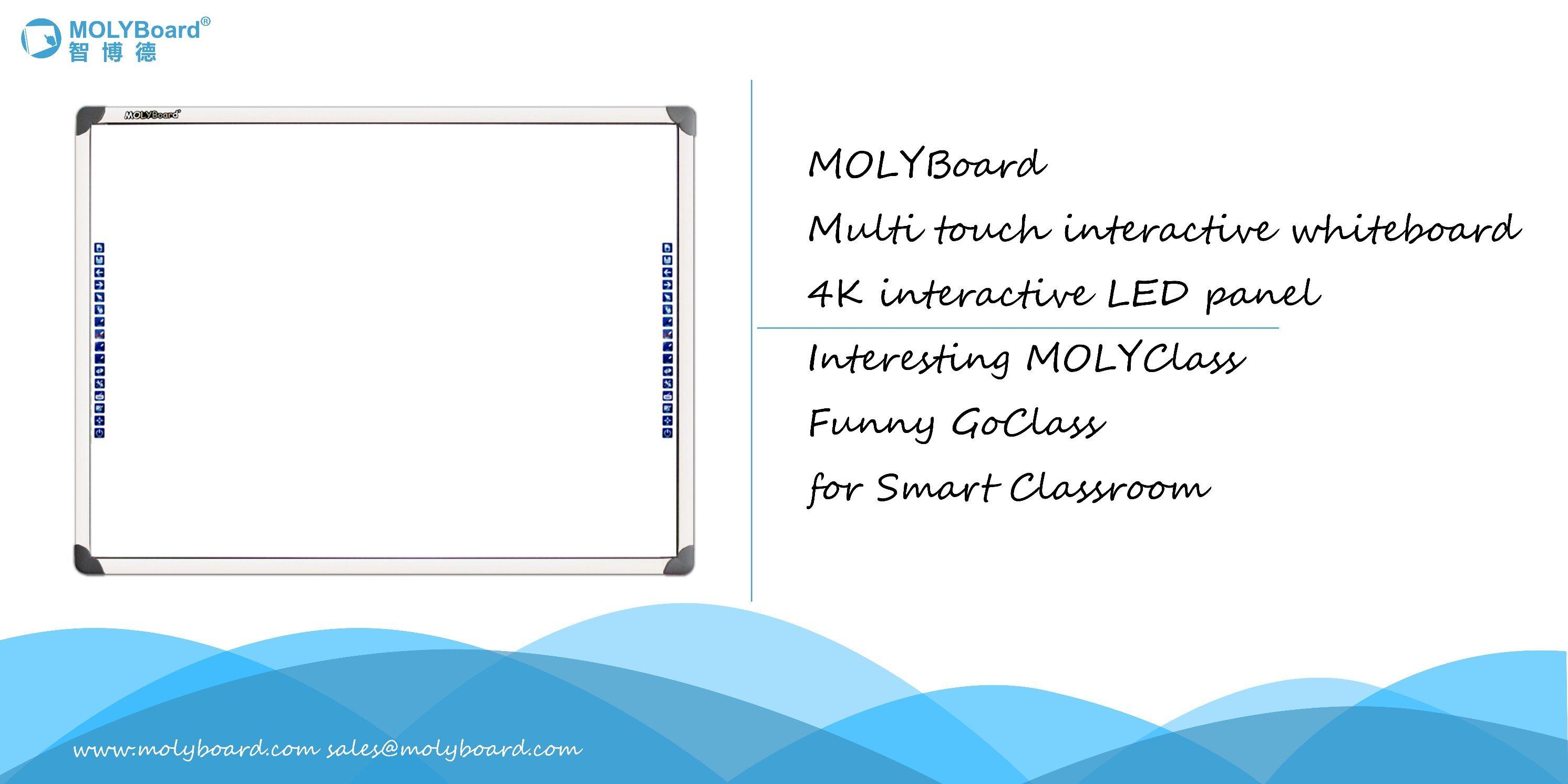Alta qualità e bene durevole Whiteboard interattivo scorrevole per insegnamento del banco