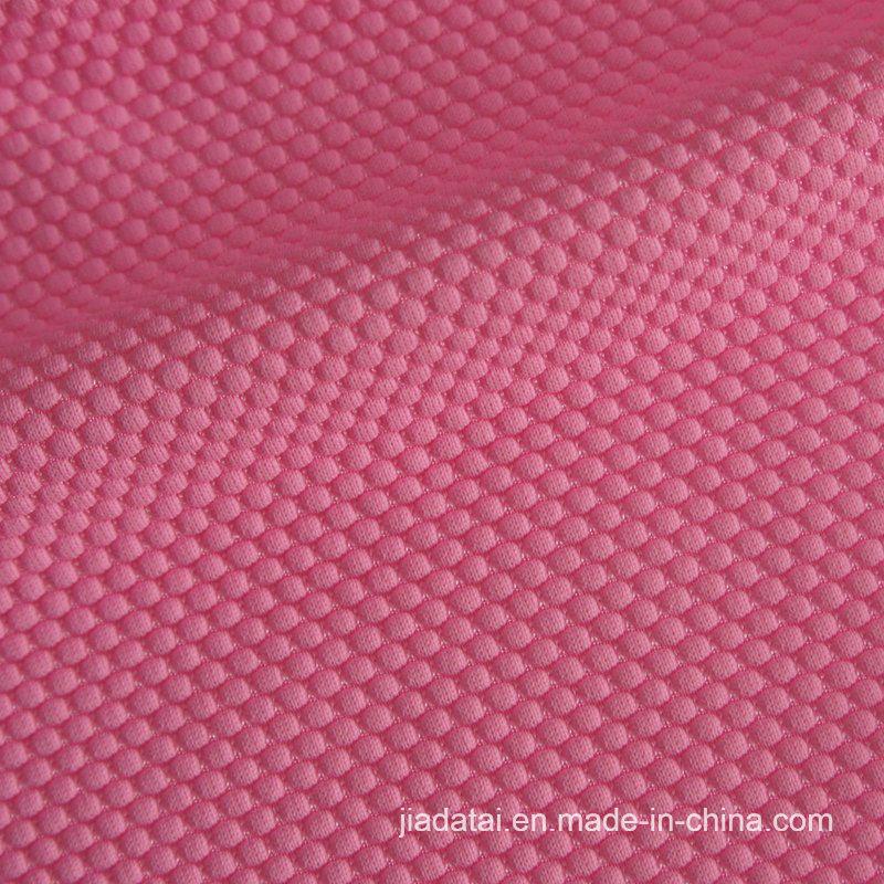 水着のための柔らかい蜜蜂の巣のSeersuckerの泡パターンスパンデックスのナイロンファブリック