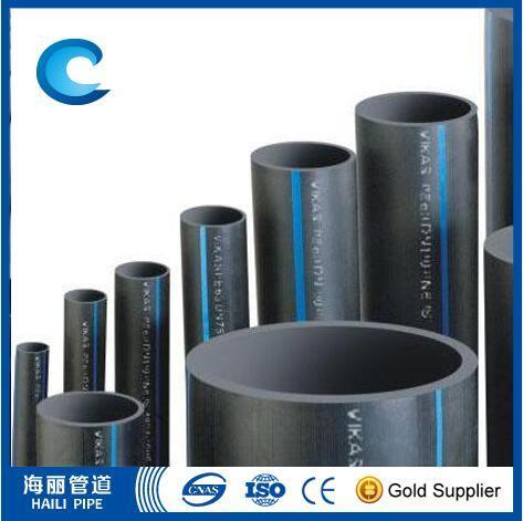 Norma ISO Pn10 tubo de HDPE de Abastecimento de Água