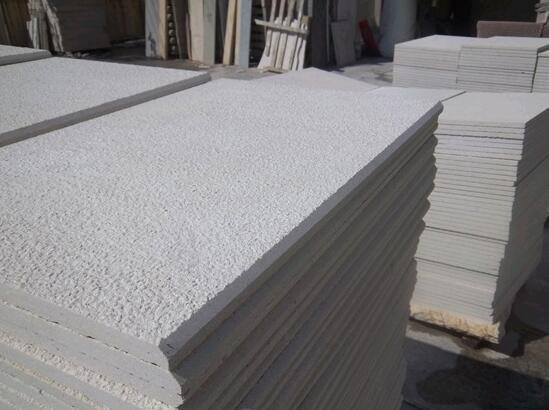 Fußboden Aus Stein ~ Weißer sandstein gesägter schnitt abgezogen fußboden fliesen