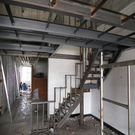 structure en acier de peinture/mezzanine loft/platform/escalier (ssb