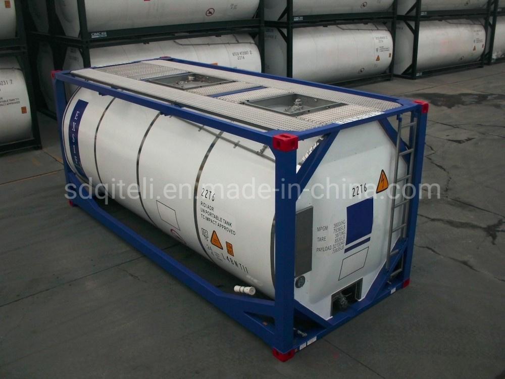 Boa qualidade de 20FT 23,5m3 ISO do tanque de gás propano Recipiente Factory