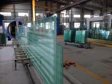 Vidrio laminado templado/Cristal de construcción/transparente cristal de la construcción de flotación
