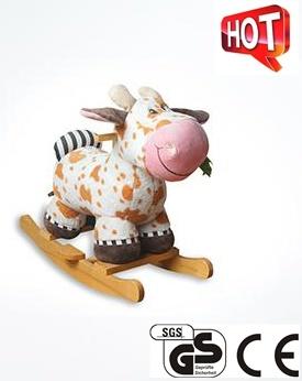 Les jouets en peluche doux animal en peluche Rocking Horse Ca-Ra04