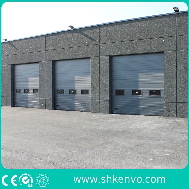 Porte Sectionnelle Supplémentaire Industrielle Motorisée Automatique De  Garage De Panneau