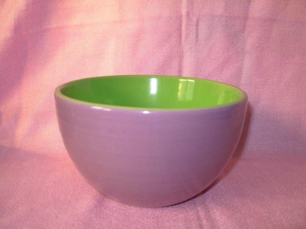 Custom 6 polegada de grés/cerâmica glacê de dois tons, taça de cereais (WSY118S)