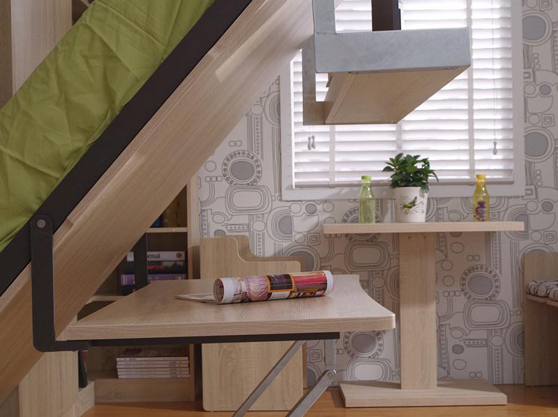 Foto de sepsion vertical inclina o nica murphy parede - Wandbett mit schreibtisch ...
