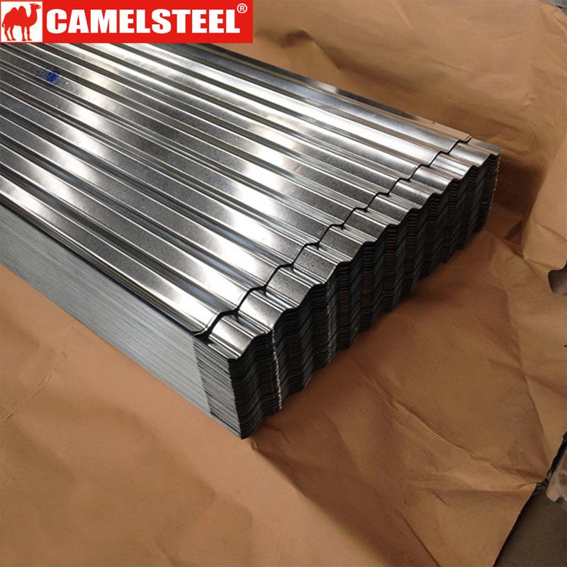 Los materiales de construcción de techos de metal de hoja de hierro