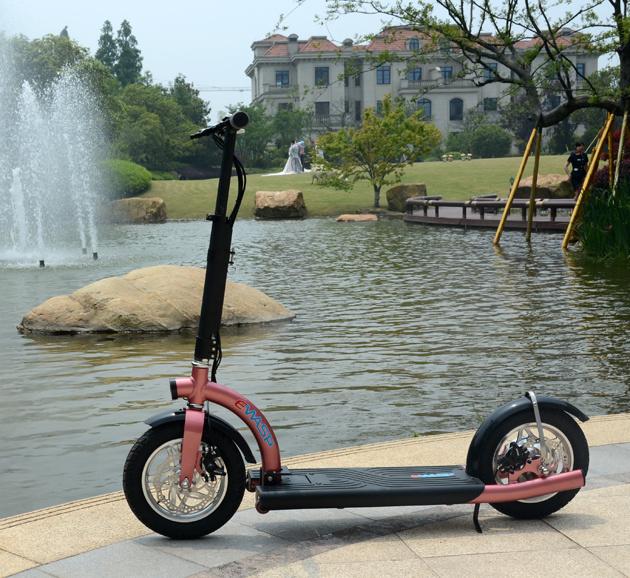 Poussez les scooters pliants motorisés de 300W avec Ce