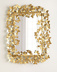 Wand-Spiegel-Metallspiegel-Dekoration-Spiegel