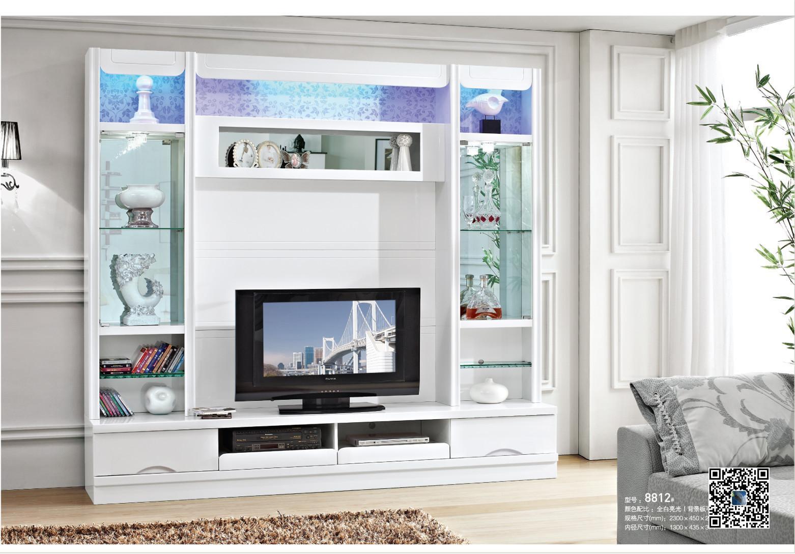 Madera muebles para la sala de tv gabinete p11 madera for Modelos de muebles para sala