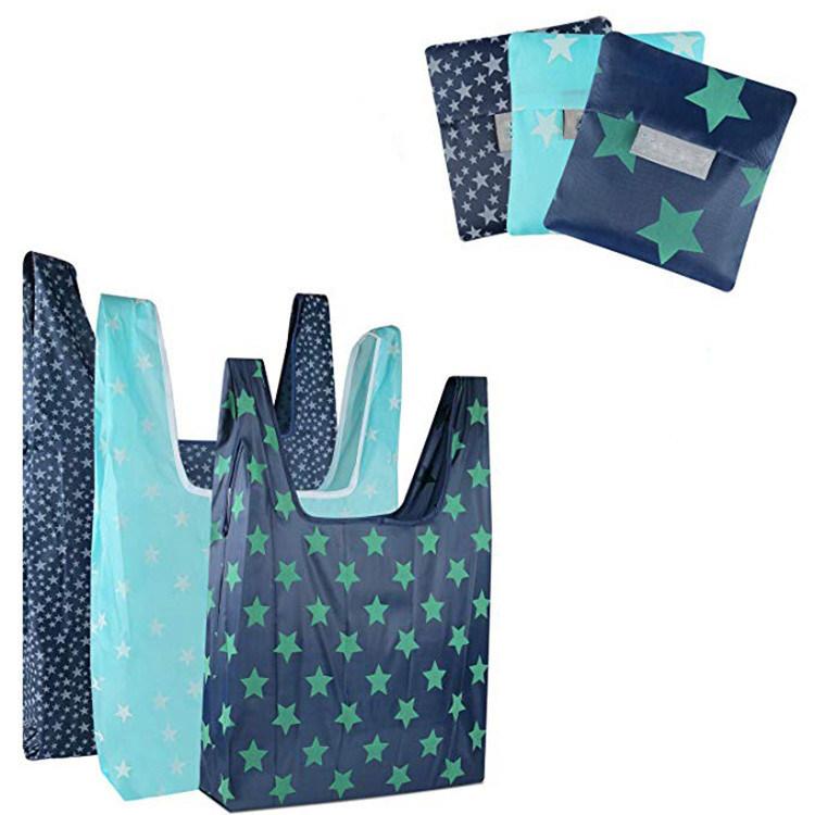 Opvouwbare Winkeltas, waterdichte draagtas, draagbare beschermtas voor het milieu, Oxford Cloth-opbergtas