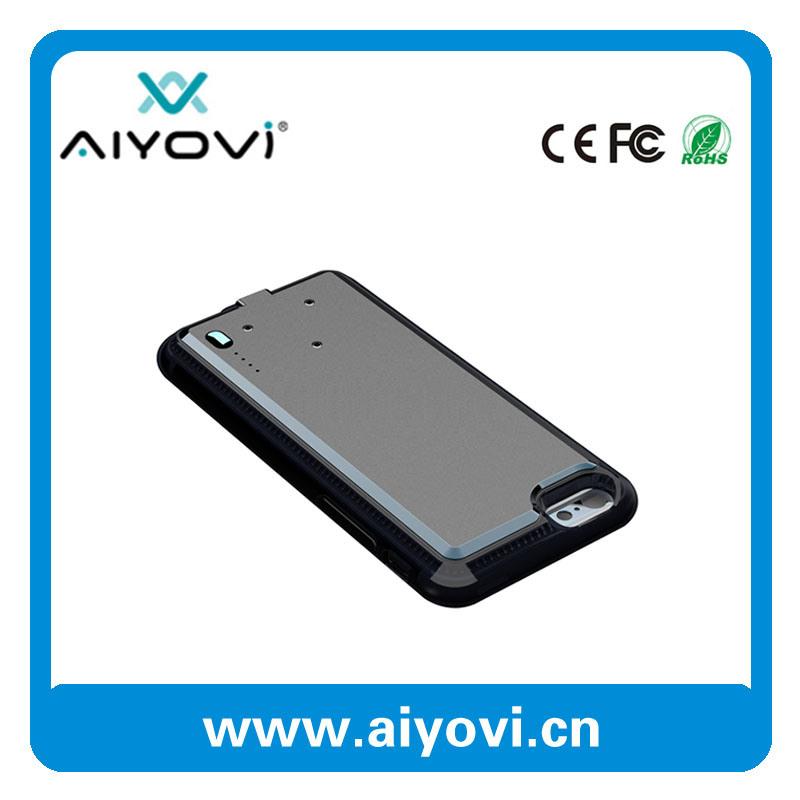 """薄の2016熱い販売iPhone 6/6s 4.7のための2000のmAhの外部電池のケース"""""""