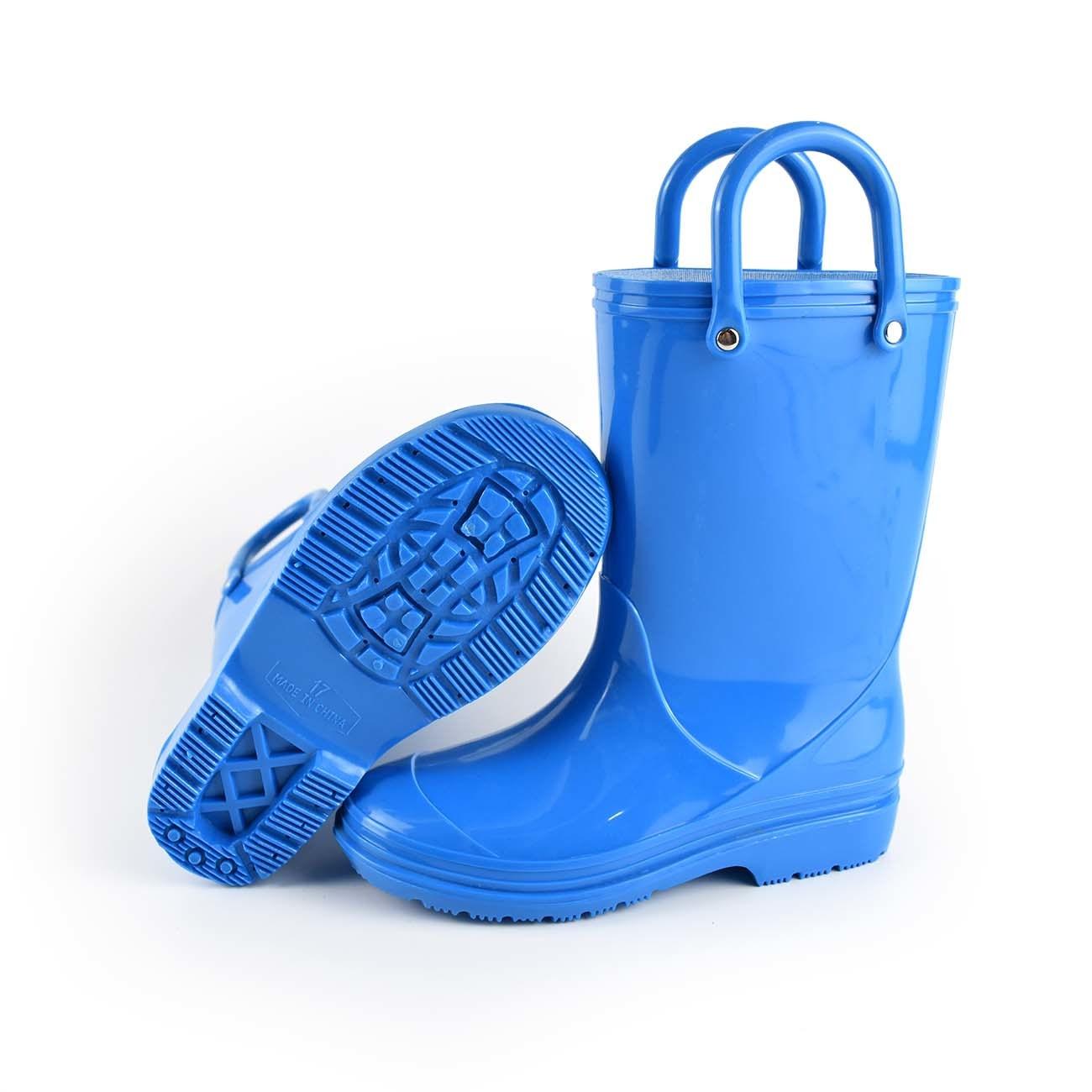 Toddle Belüftung-Kind-Regen-Aufladungen und Regen-Schuhe mit Griffen