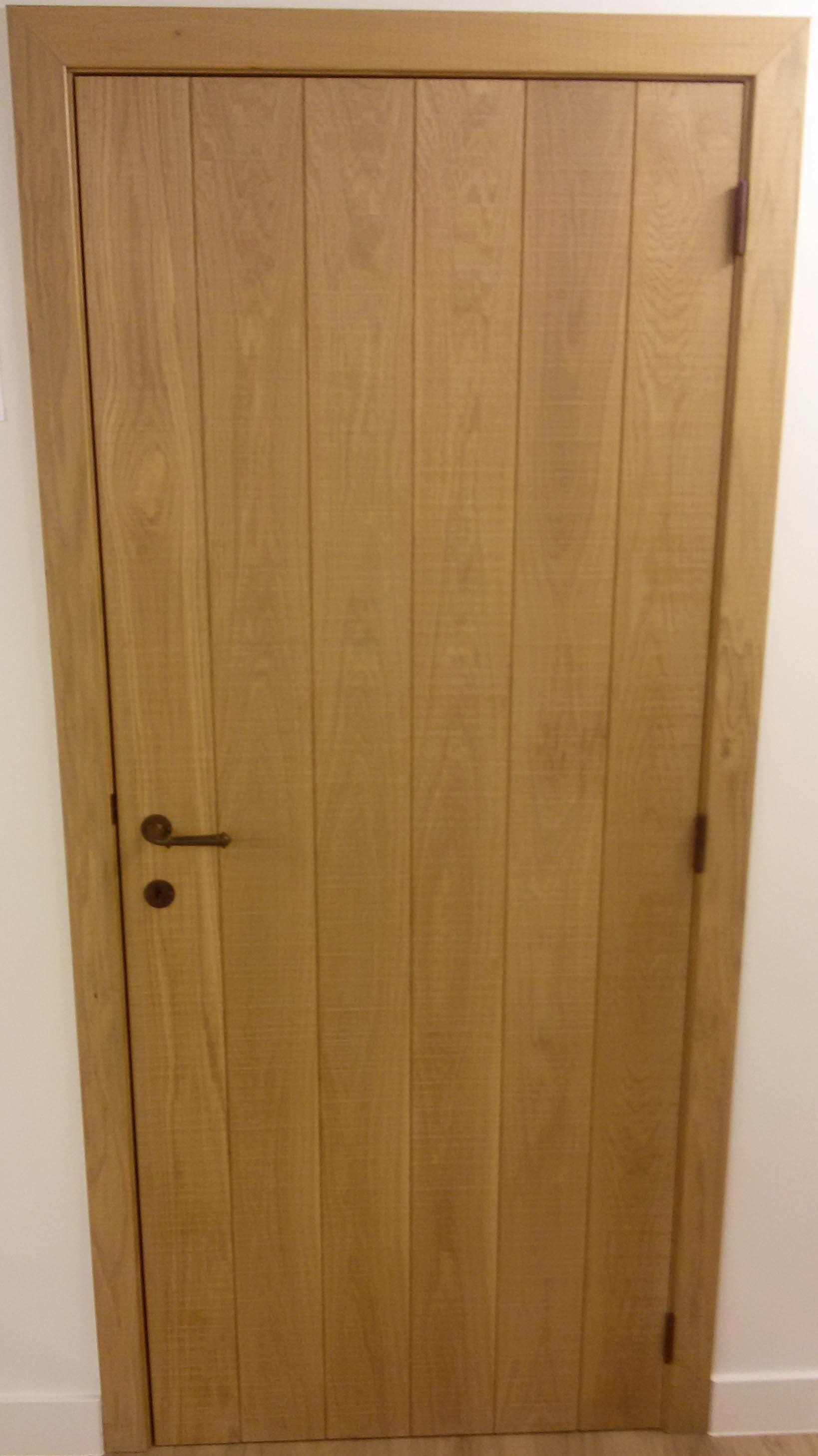 le bois extrieur de porte dentre en bois massif