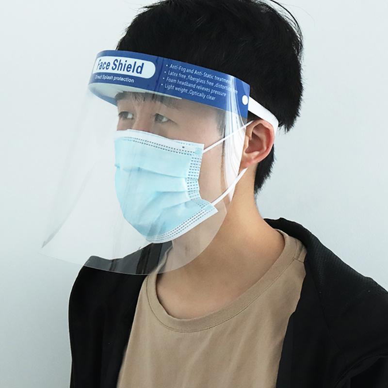 2020 Hot Sale Stock disponible coiffures écran facial intégral réutilisable