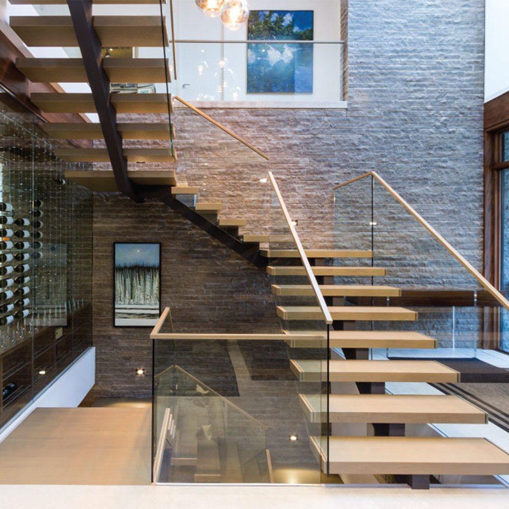 Escalier Dans La Maison chine escalier en bois modernes pour la maison de l