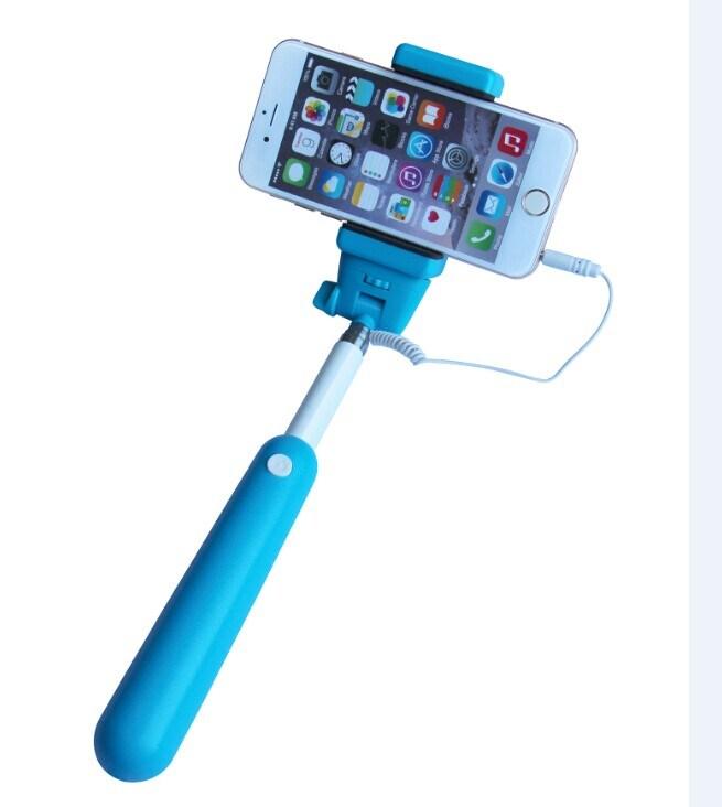 De Stok Monopod van Selfie met Kabel