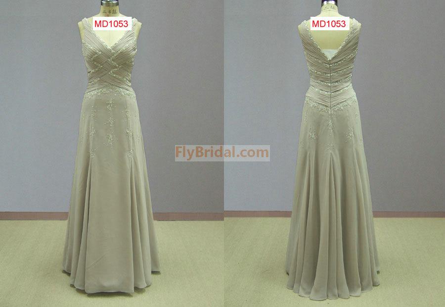 Comprimento total noite vestidos (MD1053)