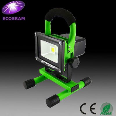 Holofote LED Rechargebale 20W: 3 horas de tempo de trabalho